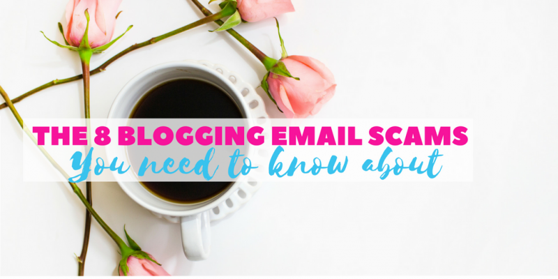 8 blogging email scams you NEED to know about